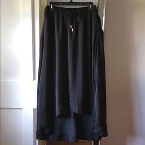 Banana Republic high low maxi skirt
